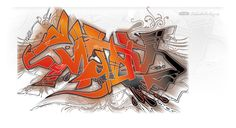 Mady Graffiti vector illustratie - StefanAchterberg.nl Media Design, Graffiti, Illustration, Graphite, Illustrations, Character Illustration, Street Art Graffiti