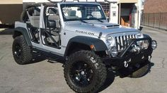Before retiring in 2006, tennis legend Andre Agassi played big on the court, and, apparently, played really big off road. His heavily customized 2007 Jeep W