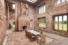 Astley Castle, I could do something with this love the space.