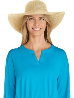 e974864a3e5ac UPF 50+ Women s Packable Wide Brim Hat - Sun Protective (One Size- Natural)  - CS12NAGKEE4