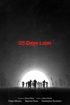 28 Days Later by DirtyGreatPixels #movies #posters #horror