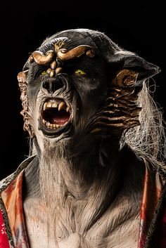Face Off – Season Episode 14 – Cry Wolf - Create a werewolf character to complement the vampires from the last challenge. Face Off Makeup, Makeup Fx, Scary Makeup, Vampires, Face Off Syfy, Alien Photos, Creepy Costumes, Monster Makeup, Alien Concept Art