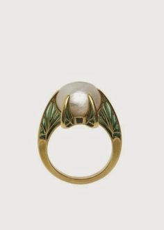 René Lalique, ring, France, Art Nouveau, c. 1900