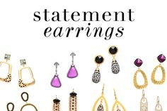 Make a Statement SALE ENDS Chandeliers, danglers, & hoops. No matter the occasion, style your season with statements. Jewelry Accessories, Fashion Accessories, Diva Design, Jewelry Making Tutorials, Paparazzi Jewelry, Custom Clothes, Statement Earrings, Happy Shopping, News Bulletin