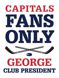 Capitals Custom Personalized Bar Sign  by thepersonalizedstore #ManCave #FathersDay #Groomsman