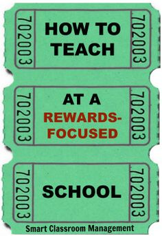 How To Teach At A Rewards-Focused School - This doesn't mean to put your own career at risk if you work at a school that mandates the use of external rewards. You can still stay true to yourself and what you know is right for your students while safeguarding them from bribery, trickery, and manipulation.