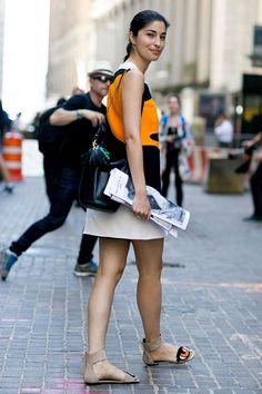 Неделя моды в Нью-Йорке весна-лето 2016: street style. Часть 5 (фото 6)