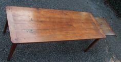 antike Kirschbaum Tisch