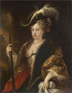 María Luisa Gabriela de Saboya (1688-1714). Reina de España, primera esposa de Felipe V (casados en 1701)