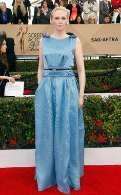 Gwendoline Christie from SAG Awards 2016: Red Carpet Arrivals