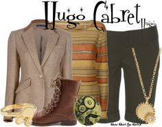 Inspired by Asa Butterfield as Hugo Cabret in 2011's Hugo.