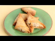 Indian Inspired Samosa Recipe - Laura Vitale - Laura in the Kitchen Episode 808 - YouTube
