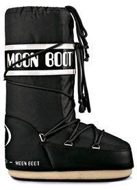 Tecnica Moon Boot Vinil - Black White