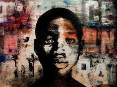 "Saatchi Art Artist Chris Veeneman; Painting, "" Kossi"" #art"
