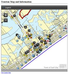 Check out the interactive tourism map created by the Community Development Department.