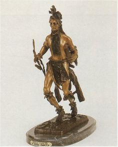 Indian Dancer by Frederick Remington