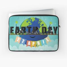 A durable zipped laptop sleeve protects from scratches and minor impacts. Keep your laptop safe! #laptopsleeve #laptopcase #laptopbag #computerbriefcase #laptoppouch#earthday #savetheplanet#earthday2020