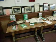 A collection of programmes, memorabilia and photos. 'Never in the field of human sportsmanship has one club given so much to so few'.