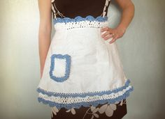 How-Tuesday: Upcycled Apron on Etsy