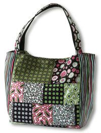 Paisley & Print Patchwork Bag  Quilts and more