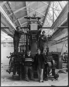 Ian Beesley, The Last Loom Salts Mill, 1986, Courtesy of the artist, Photo50 at London Art Fair.