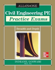 Download free Civil Engineering PE Practice Exams: Breadth and Depth pdf
