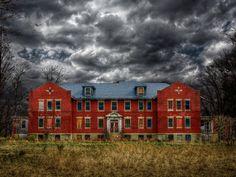 Skillman Village, New Jersey. 230 acres of abandonned mental asylums.