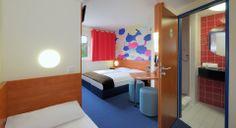 Familienzimmer für 3 Personen im B&B #Hotel #Regensburg
