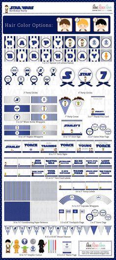 great star wars printable pack