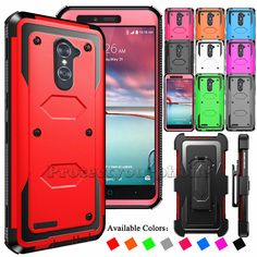 For ZTE Zmax Pro Z981/Imperial Max Z963U Hybrid Hard Case Armor Protective Cover Nintendo Consoles, Electronics, Games, Phone, Plays, Gaming, Toys, Game