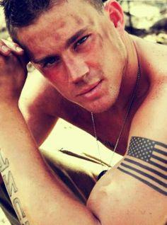 Channing Tatum. Wow. God bless America!
