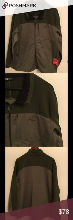 NEW The North Face Men's Cinder Jacket Brand new with tag, Men's Cinder Jacket in XXL in burntolvgrnhthr color.  Price is firm. No trade. The North Face Jackets & Coats
