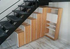 Bajo Escalera Mueble Alacena Bibliotecas Ocultas Paraíso - $ 34.500,00 en Mercado Libre