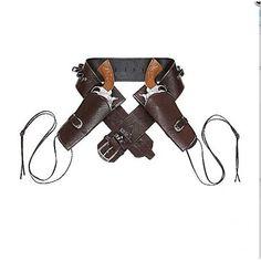 Cinturone Western con Fondina Doppia 17