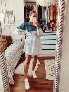 Air Force 1, Summer Vibes, Lightroom, Shirt Dress, Shirts, Outfits, Instagram, Dresses, Fashion