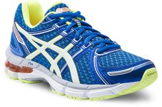 Gel Kayano 19  Blue/White/Yellow  Available in sizes 4 - 7