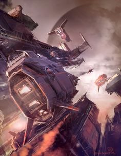 Concept Art World » Nicolas Bouvier aka Sparth, artistic director and concept designer in the gaming industry.