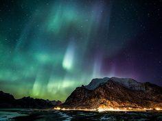 Aurora in Lofoten Islands, Norway