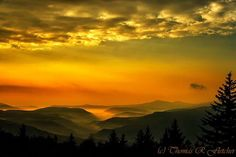 Allegheny Mountain Sunrise-Thomas R Fletcher Photography