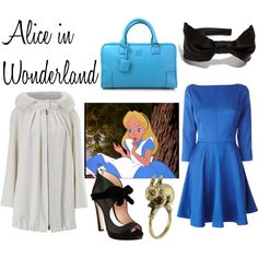 """Disney: Alice in Wonderland"" by belleoftheball on Polyvore"
