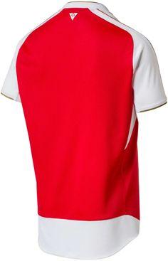 PUMA Arsenal Home Kit 2015/2016 Season Arsenal Kit, Sports, Tops, Fashion, Hs Sports, Moda, Fashion Styles, Sport, Fashion Illustrations