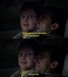 """59 Reasons We're Going To Miss """"The Office"""" (via buzzfeed)"""