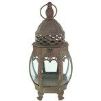 Antique Gold Metal & Glass Antique Candle Lantern | Shop Hobby Lobby