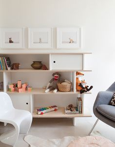 The Animal Print Shop Nursery Project - Adorable nursery with The Animal Print Shop Prints paired with Oeuf Mini LIbrary Bookcase. Modern Kids Furniture, Nursery Furniture, Children Furniture, Library Furniture, Furniture Stores, Office Furniture, Nursery Room, Kids Bedroom, Nursery Decor