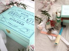 Bride Kit DIY Tutorial that was featured on Style Me Pretty...great for a bridal gift or gift from bridesmaids!