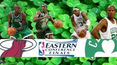Boston Celtics vs Miami Heat NBA Playoffs 2012 Eastern Conference Finals HD Wallpaper