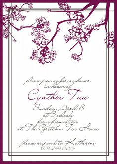 Tips to Make the Best Wedding Shower Invitations