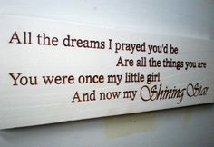 Beautiful Daughter Graduation Coming Of Age Wood Sign on Wanelo