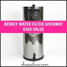 Royal Berkey Water Filter Giveaway - $369 Value