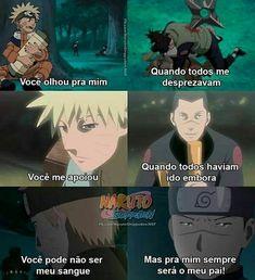 Aaaaa mds😍❤ _____________♡_______________ . . . . ) . . Viu no explorar? ent siga @central_naruto_uzumaki  Para mais publicações Naruto Shippuden Sasuke, Anime Naruto, Naruto Meme, Sasunaru, Naruto Gaiden, Naruto Funny, Shikamaru, Itachi Uchiha, Otaku Anime